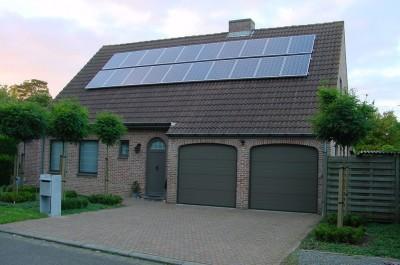 Nog ruimte voor meer zonnepanelen op het dak.