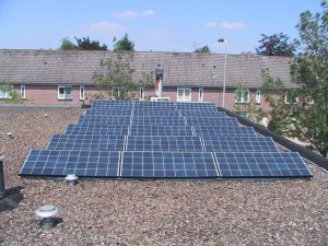 2500W aan zonnepanelen