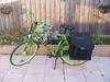 De opgespoten fiets