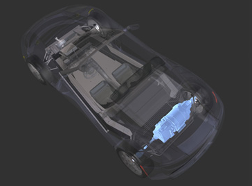 Elektromotor Tesla Roadster