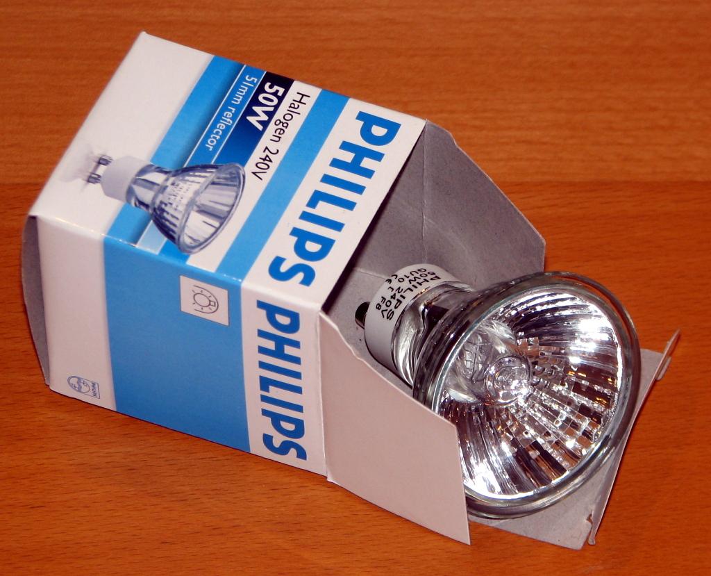 Philips halogeenlamp GU10 50W