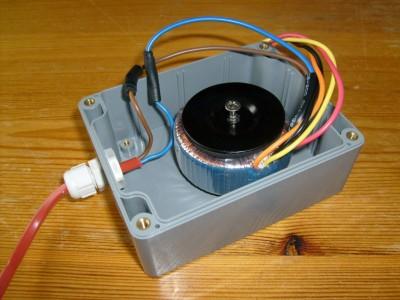 Ringkern transformator