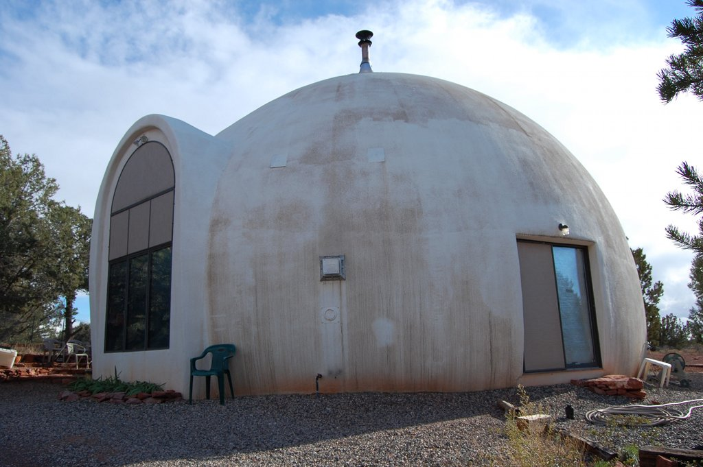 Dome Home Design Ideas: Passive Dome House In Sedona (AZ)
