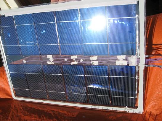 Mijn eerste zelfbouw zonnepaneel