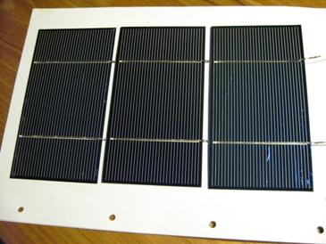 De eerste zonnecellen