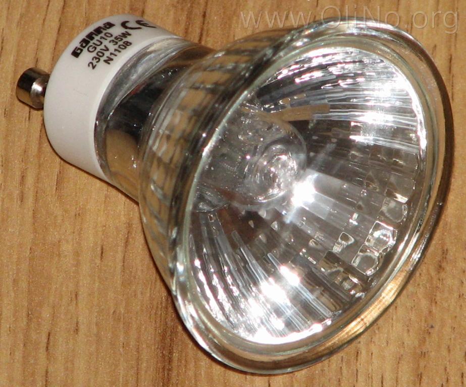 Vervanging van 5 x 35W halogeen door LED spots in mijn huiskamer ...