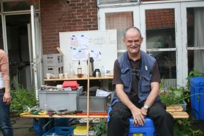 Leo Bakx geeft trainingen permacultuur