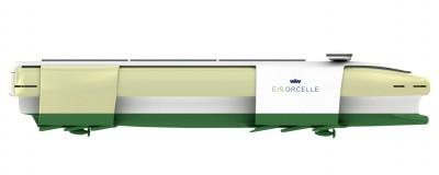 De Orcelle heeft 12 vinnen om golfenergie op te wekken