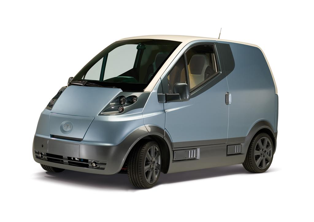 Elektrische Bestelwagen Quicc Transport Olino