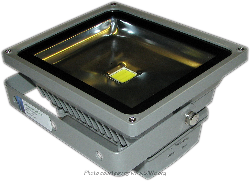 Ledverlichting Soest - Floodlight LVS-20 Cool white
