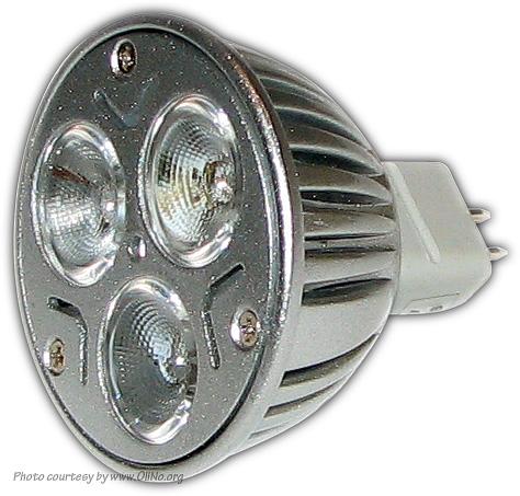 Ledverlichting Soest – LVS_A16_MR16_3x3W Cree | OliNo