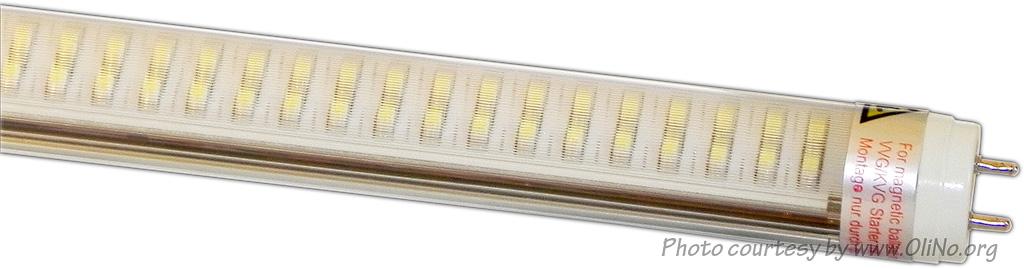 KLV Ledverlichting - Led Röhre 150cm T8 Tube striped Cool White