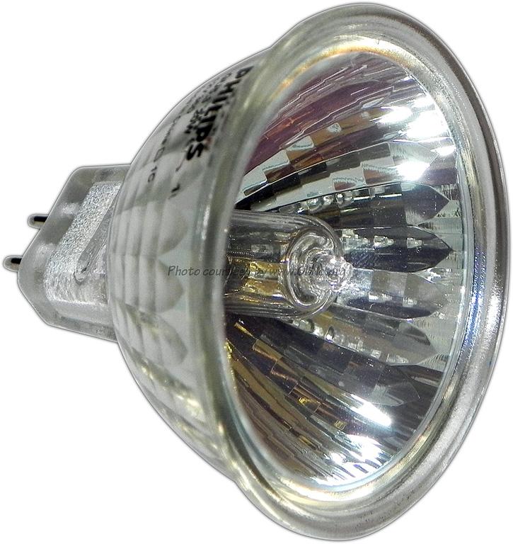 Philips halogeenlamp 20W GU5.3 36g cool beam