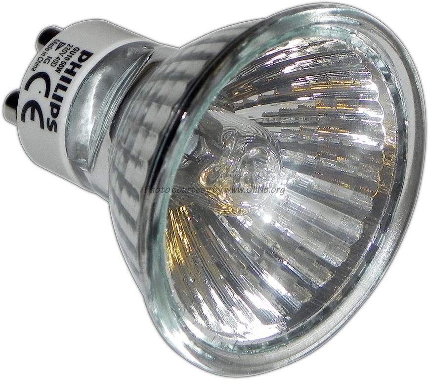 Philips halogeenlamp 50W GU10 40g 2800K - Lampmetingen| OliNo
