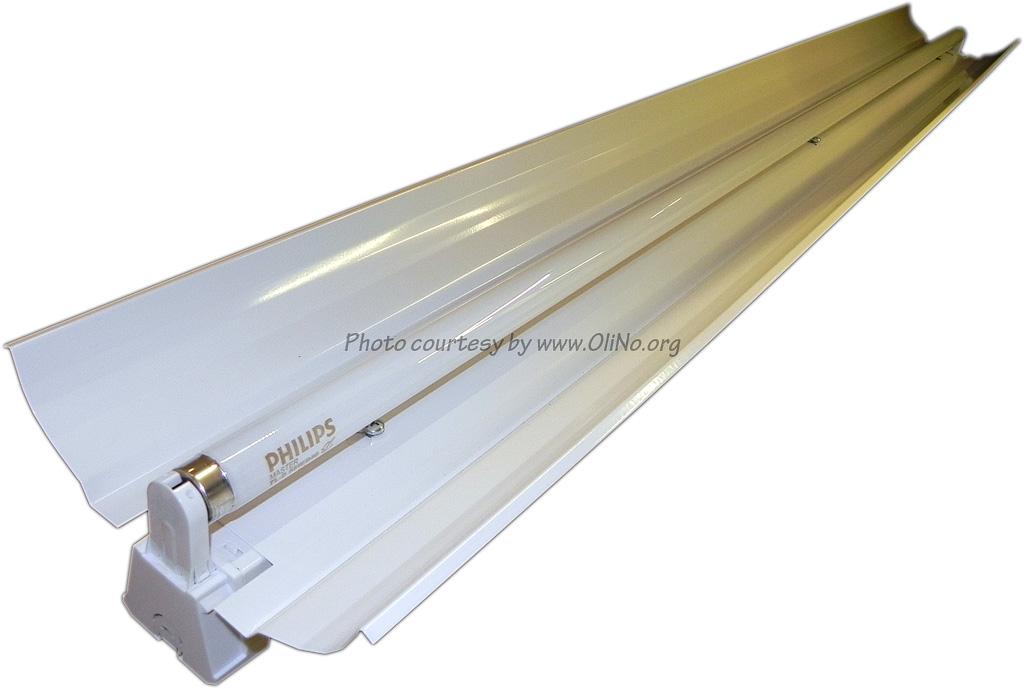Philips Tld 150cm 840 Buis In Luminaire Met Reflector