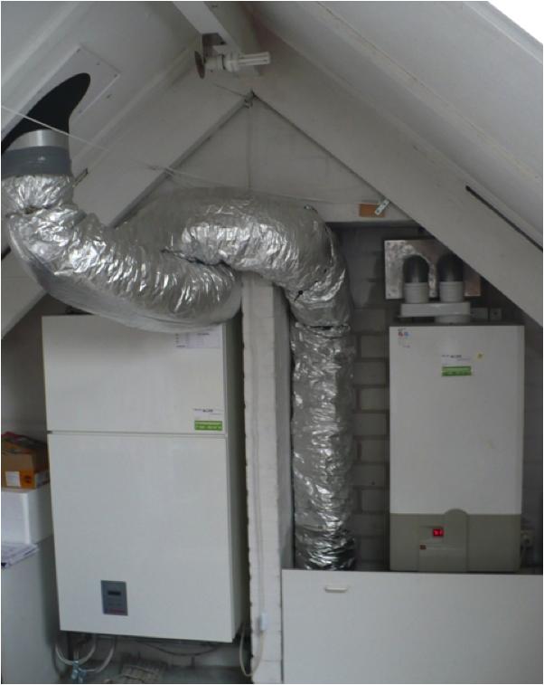 Ventilatiewarmtepomp Energiebesparing Olino