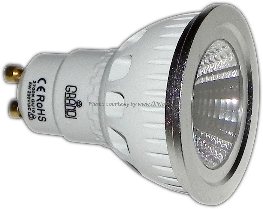 LEDworld B.V. - GU10 Grandi Argento COB-LED 4W Dimbaar
