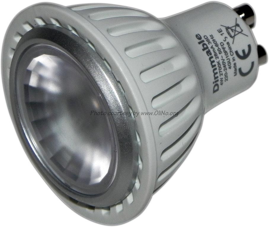 Philips - 4W GU10 ledlamp dimbaar