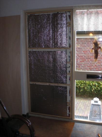 De voordeur is een gemakkelijke weg naar buiten ook voor warmte energiebesparing olino - Hoe u een projector te installeren buiten ...