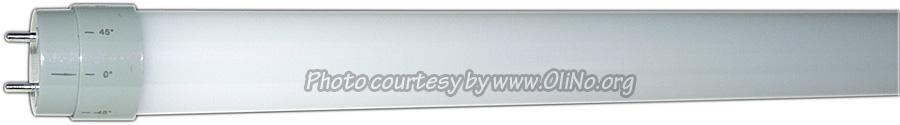 KLV Ledverlichting - Ledbuis 120cm 20W milky WW30