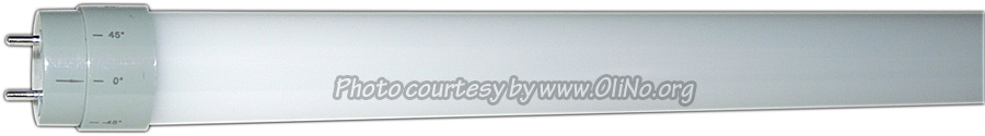 KLV Ledverlichting - Ledbuis 120cm 20W milky CW65