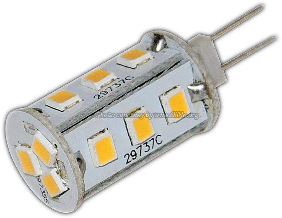 TopLEDshop - Ledlamp G4 12V rond