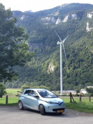 Windmolen bij Chur