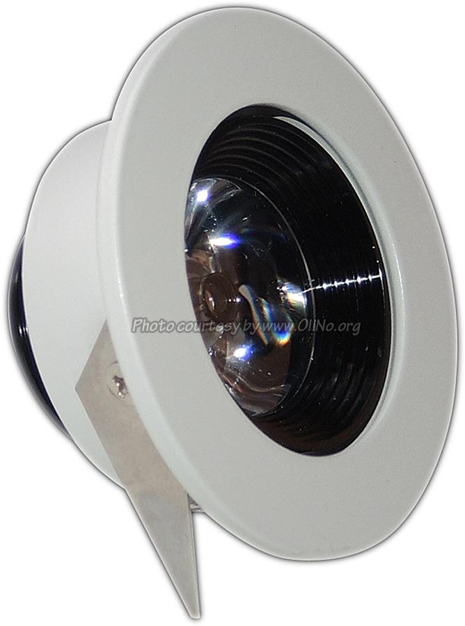 DealExtreme - 1W 3300K 60lm 1-LED WW plafondlamp (85~265V) nr 184733