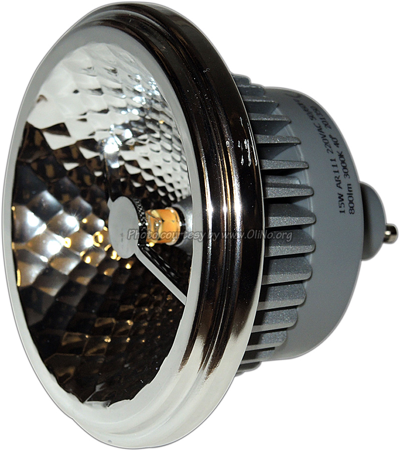 TopLEDshop - AR111 ledlamp GU10 WW 40 graden dimbaar