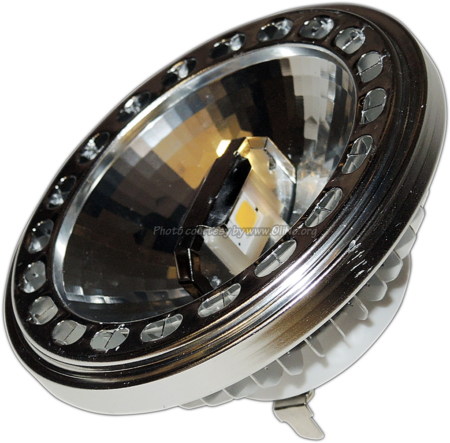 TopLEDshop - AR111 ledlamp 12VACDC WW 25gr niet dimbaar