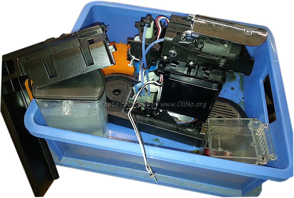 Reparatie Magimix M190 Nespresso - Reparatie  OliNo