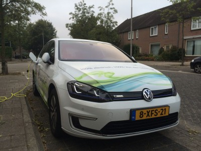 De Volkswagen e-Golf