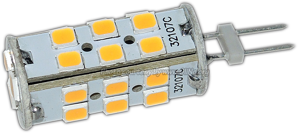 TopLEDshop - G4, 3W, 27 x 2835 SMD, tower