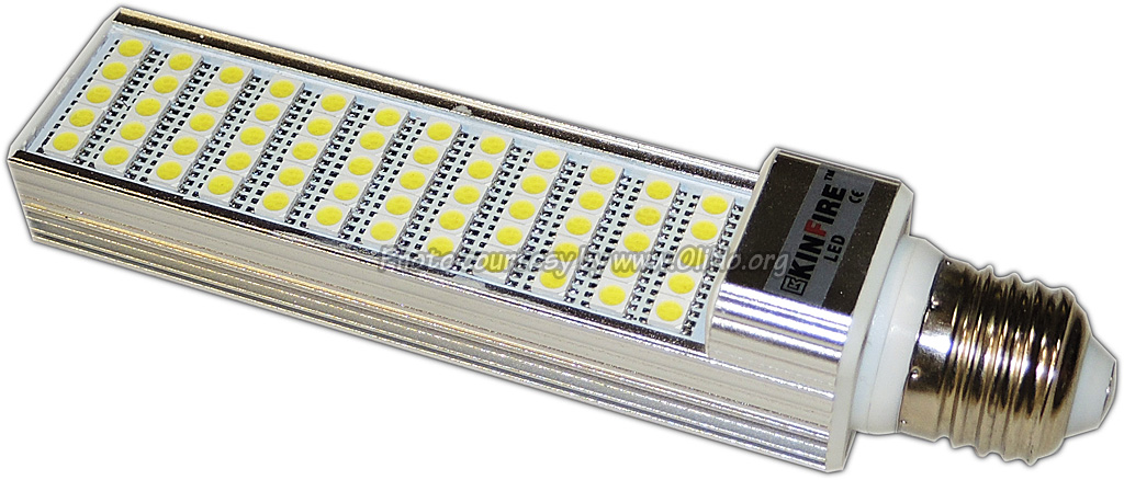 DealExtreme - SKU355577 KINFIRE E2715W 1200lm 6500K 60-SMD 5050 LED