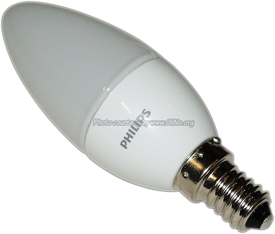 Philips - Kaarslamp E14