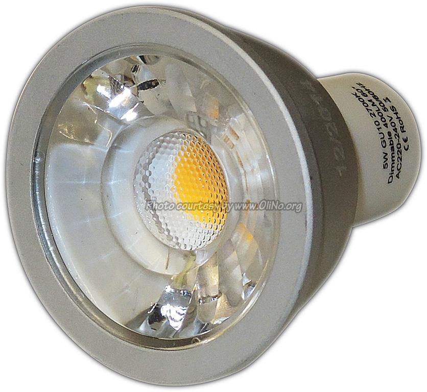TopLEDshop - LED spot light GU10 5W 2700K dimmable