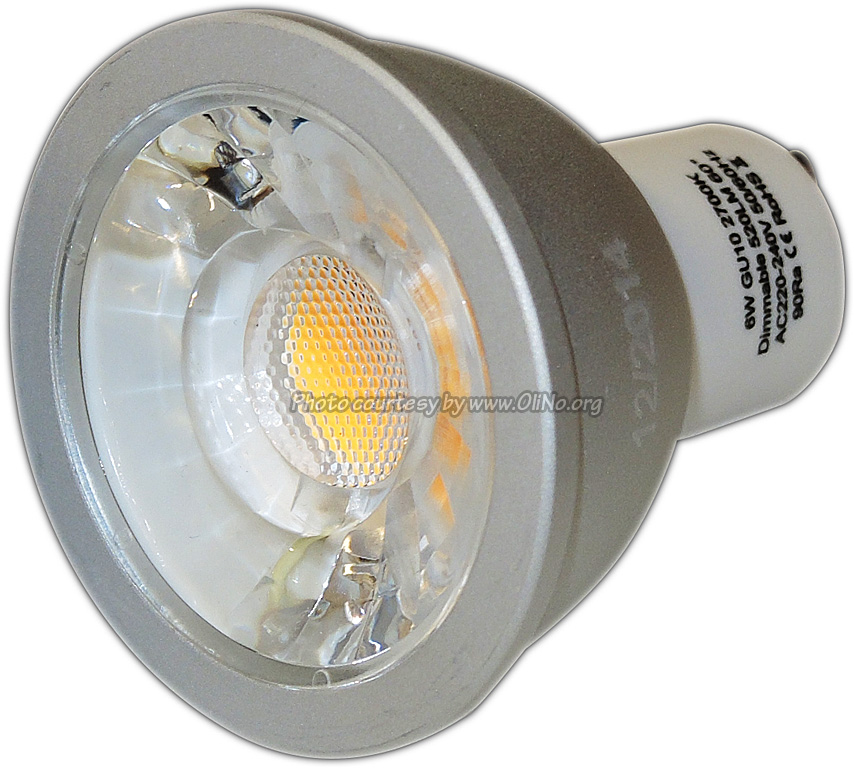 TopLEDshop - LED spot light GU10 6W CRI90 2700K dimmable