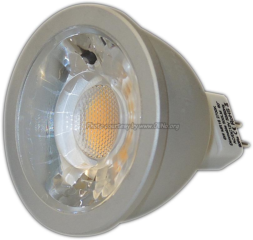 TopLEDshop - MR16 6W CRI90 2700K dim-able LED spot