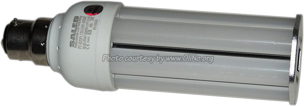 Saled - LED PS-T  B22 15 watt 4000K met interne driver