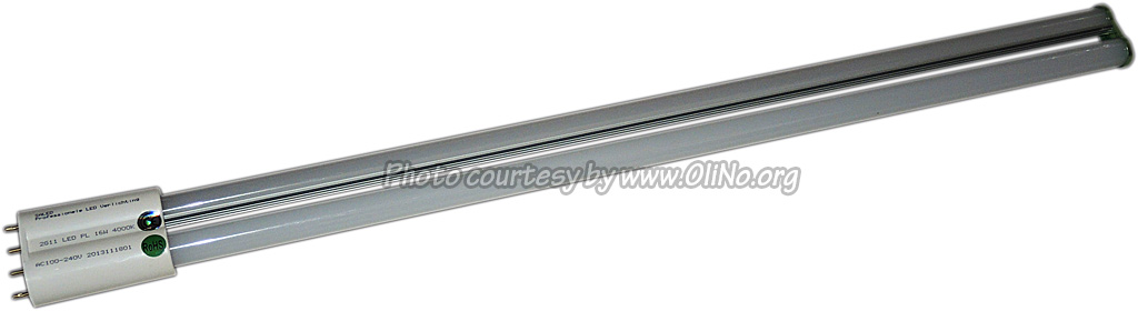 Saled - LED PS-L Basic  2G11 4-pins 16 watt 4000K 270gr met interne driver