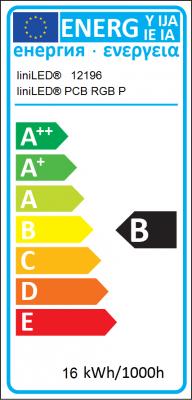 Energy Label Triolight B.V. - liniLED® PCB RGB Power