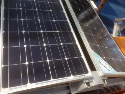 Voorbeeld Oost-West montage zonnepanelen