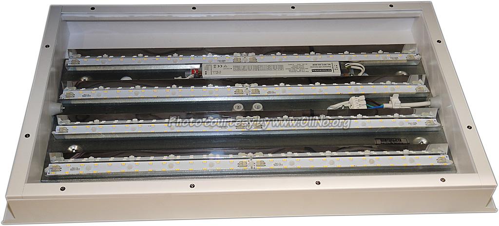 DMLUX Verlichtingsarmaturen - Northcliffe Blade LED 80W