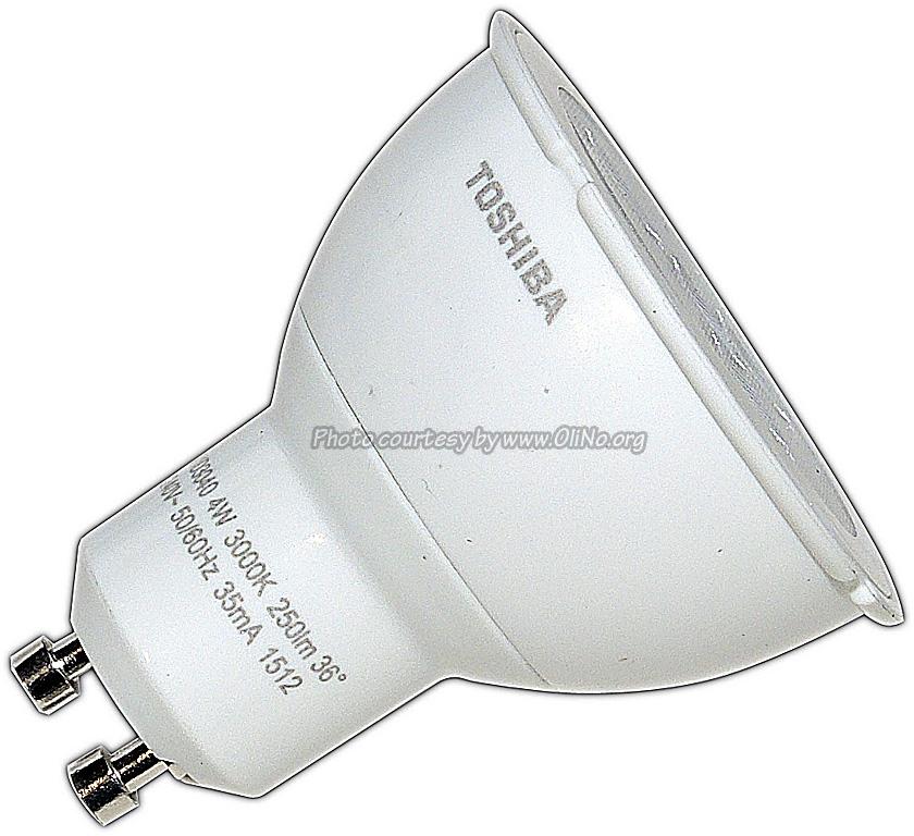 Toshiba - E-CORE PAR16 LED 4.0W WW
