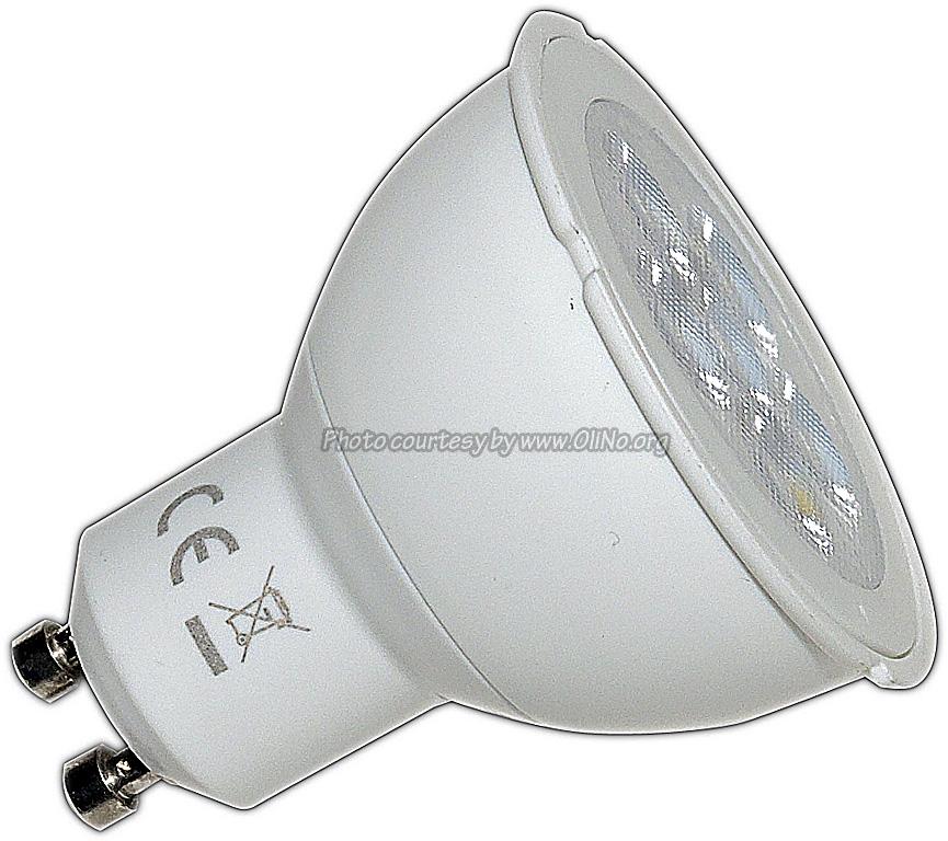 Toshiba - E-CORE PAR16 LED 5.0W WW