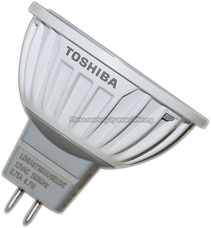 Toshiba - E-CORE LED GU5.3 6.7W WW
