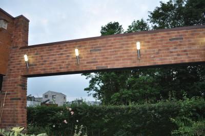 Led verlichting is ook in de tuin goed toepasbaar.