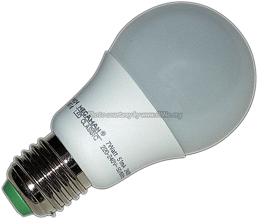 Megaman - Led classic dimmable 7W Mellow