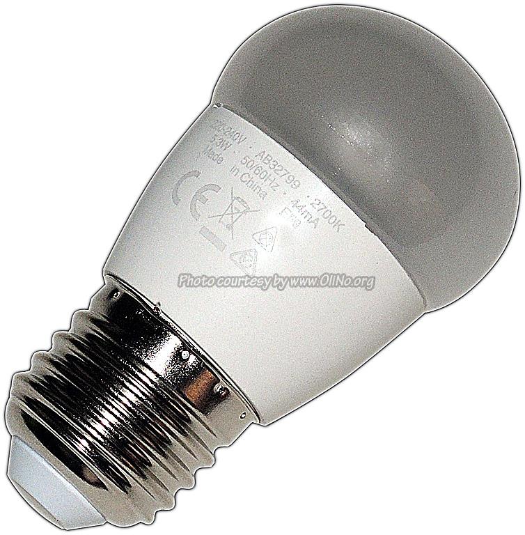 Osram - LED ST E27 5.8W Matt WW Tropfen