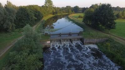 Waterkrachtcentrale in Nederland